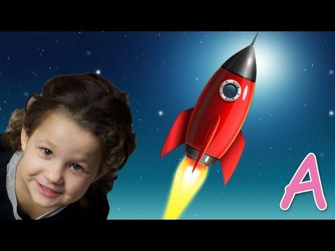 Запуск Ракеты, Ракета для детей, эксперименты для детей опыты для детей