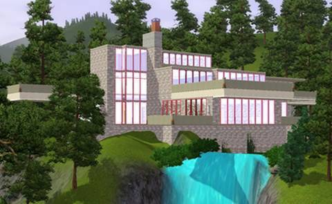 The Sims 3 - Building Falling Water