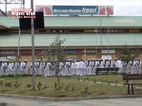 Homenaje a Miguel Grau en Bolivia