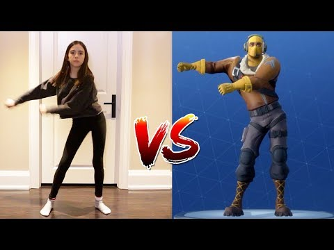 FORTNITE DANCE CHALLENGE! - (In Real Life)