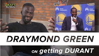 One on One with Draymond Green - Did Draymond