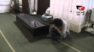 تشييع جنازة رضوى عاشور من مسجد صلاح الدين بالمنيل