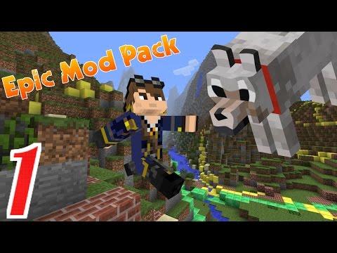 UNDER ATTACK!! | Minecraft Epic Modpack | Part 1