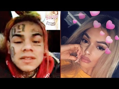 6ix9ine CAUGHT LACKING by Celina Powell aka Offset Alleged BABY MAMMA