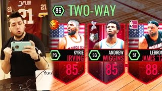 THE BEST LINEUP IN THE GAME!! NBA Live Mobile - Insane Pack Opening