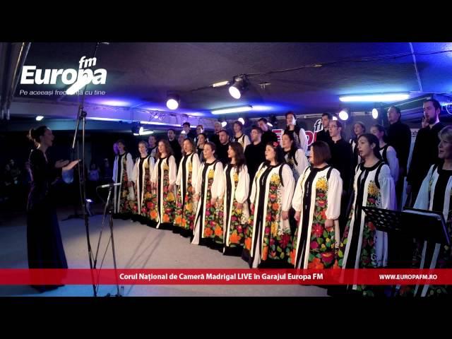 Madrigal - O ce Veste Minunata (LIVE in Garajul Europa FM)