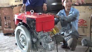 Đập thùng Động cơ d24 mới về đặt ghe biển/zh1115 engine