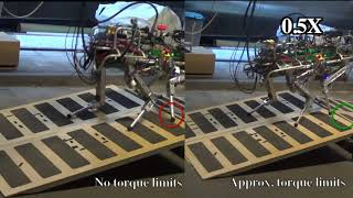 Simultaneous Contact, Gait and Motion Planning for Robust Multi-Legged Locomotion via MIP (RAL'18)