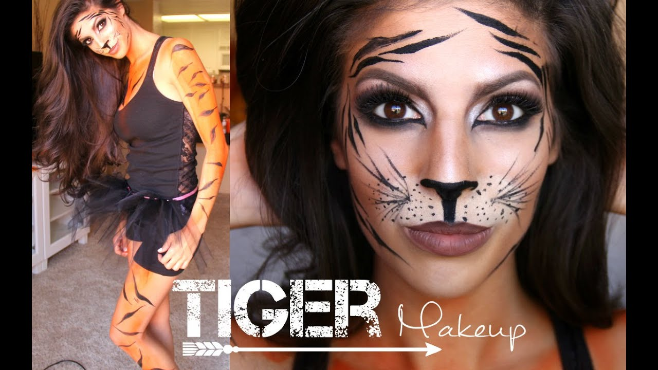 Tiger Makeup Tu... Realistic Tiger Makeup
