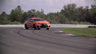Chris Harris on Cars - Lexus RCF road and track test.