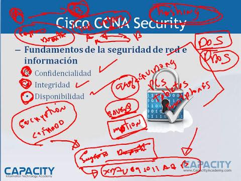 Curso Cisco CCNA Security - Conceptos Fundamentales de Seguridad de Redes - CAPACITY - 1 / 6