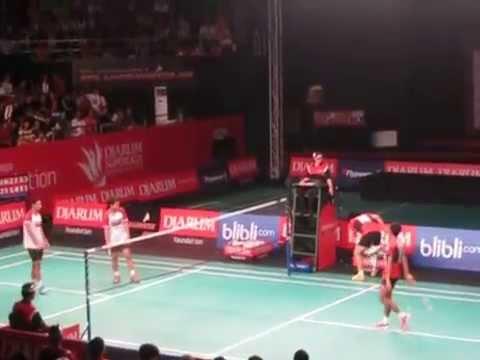 Djarum Superliga Badminton 2015 - Lee Yong Dae / Fajar Alfian vs Moh. Ahsan / Berry Anggriawan