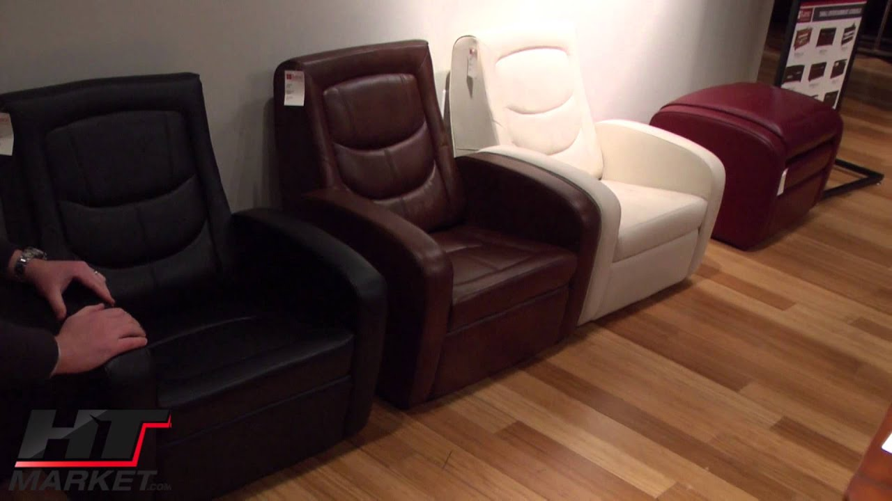 Game Chair Recliner And Ottoman Lane Furniture Youtube