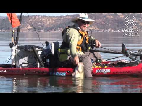 Kayak Fishing on Clear Lake, California