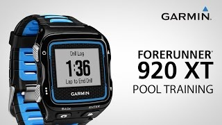 Garmin Forerunner 920XT: Training Tools - Pool Swim Profile