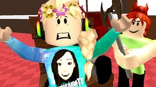 Roblox / ESCAPE THE EVIL BABYSITTER OBBY!! / GamingwithPawesomeTV