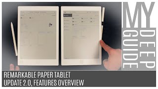 """reMarkable Paper Tablet"" - Update 2.0, Features Overview"