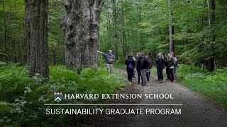 Sustainability Graduate Program at Harvard Extension School