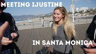 Meeting iJustine at the santa monica snapbot ILTVLOG #20 SNAPCHAT SNAPBOT SAGA PT. 2