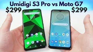 Umidigi S3 Pro vs Moto G7 (Unlocked) - Which is Better?