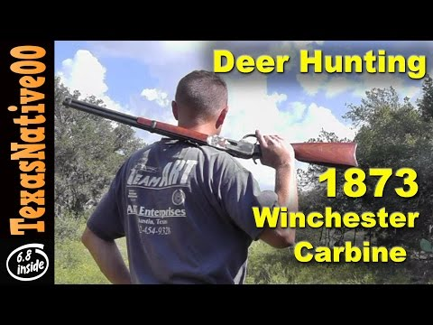 Winchester 1873 and Sika Deer Hunting - Stalk and Flush
