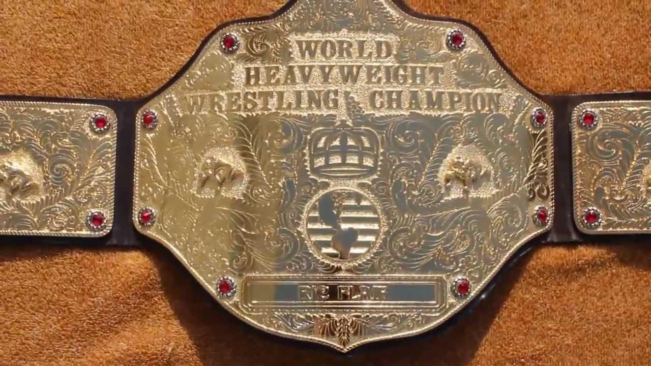 World Title Belt Title Belt Ric Flair World