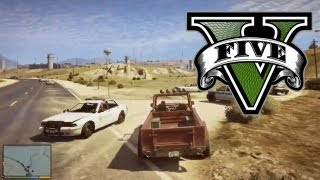 GTA 5 - GTA V Full Gameplay Video