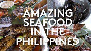 Seafood Boodle Fight (Daku Island, Siargao, Philippines)