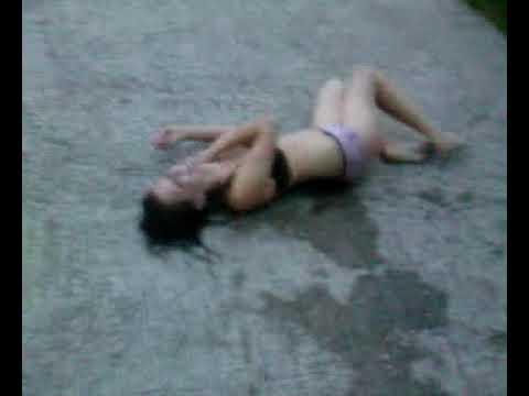 drunk girl going too far