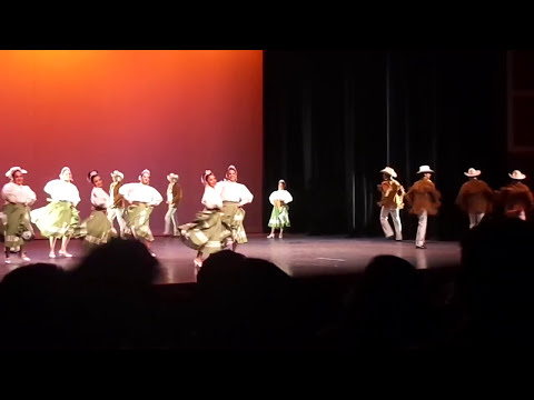 Popurrí de Nuevo León. Ballet Folklórico Quahuitl.