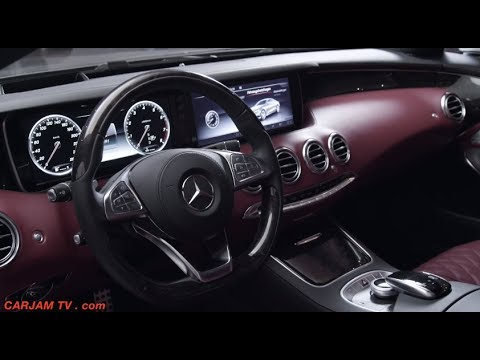 Mercedes S Class Coupe 4MATIC INTERIOR Price $100k S500 2014 Video Commercial CARJAM TV 2014
