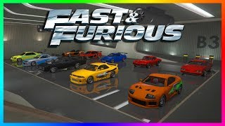 TOP 30+ FAST & FURIOUS CARS TO OWN IN GTA ONLINE - BEST GTA 5 FAST AND FURIOUS VEHICLES! (F&F CARS)