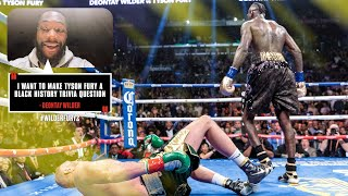 Deontay Wilder aims to make history with a KO over Tyson Fury