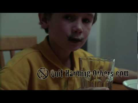 Passive smoking - Children forced to consume thousands of chemicals.