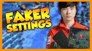 Pro Player Settings: Faker - League of Legends
