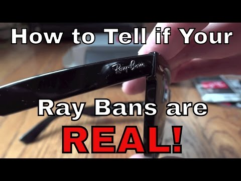 Authentic Ray Ban Original Wayfarer Unboxing (RB2140) HD
