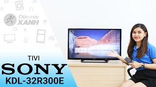 Tivi Sony 32 inch KDL-32R300E - Màu đen huyền bí | Điện máy XANH