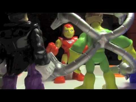 Justice and Vengeance, Part 3 (Justice League vs. Avengers)