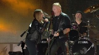 Смотреть клип Metallica - T.V. Eye ft. Iggy Pop (live)