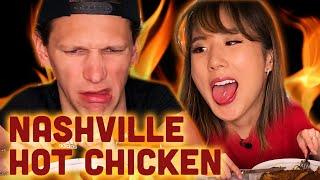 Ordering From RANDOM Restaurants *GOES WRONG?* - NASHVILLE HOT CHICKEN · YB vs. Food