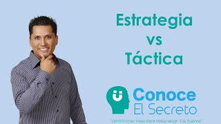 Estrategia VS Tactica