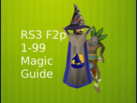 F2P 1-99 Magic Guide