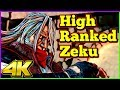 High Ranked Zeku Compilation   Street Fighter 5 AE   4K Ultra HD - 60fps - PC