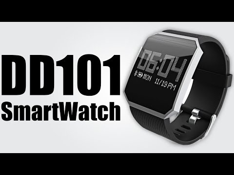 DD101 Heart Rate Smartwatch - Pedometer / Heart rate / Blood oxygen / Blood pressure monitor