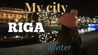 My City Riga Winter Wonderland | VLOG | Gunta Bliss