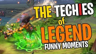 The Techies of Legend - DotA 2 Funny Moments