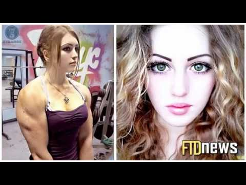 ✔ Most 5 The beautiful woman with muscles