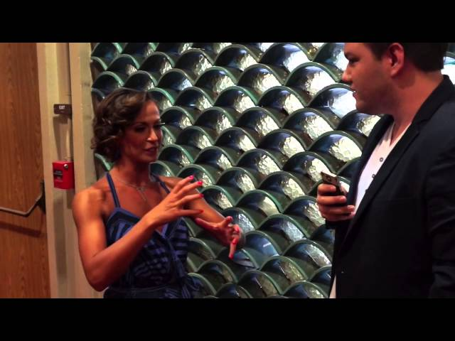 A chat with Karina Smirnoff