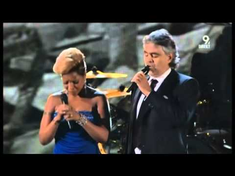 Mary J Blige and  Andrea Bocelli