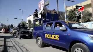 اجراءات أمنية مشددة في الإسماعيلية صبيحة يوم ٢٨ نوفمير